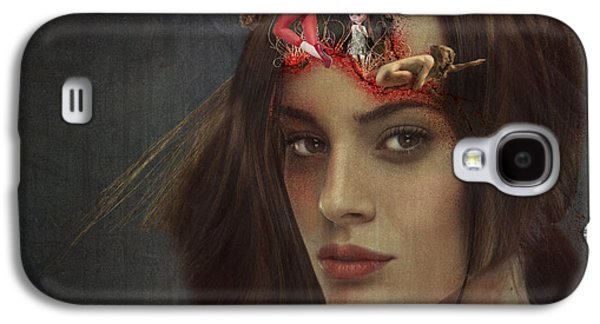 Inner Self Mixed Media Galaxy S4 Cases - Breaking Out Galaxy S4 Case by Terry Fleckney