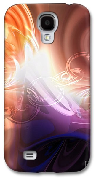 Abstract Digital Galaxy S4 Cases - Breakthrough Galaxy S4 Case by Mo T