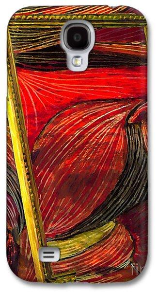 Avant Garde Mixed Media Galaxy S4 Cases - Breakthrough Galaxy S4 Case by Sarah Loft