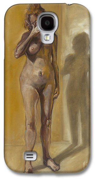Disorder Paintings Galaxy S4 Cases - Breast Cancer. Galaxy S4 Case by Nurit Shany