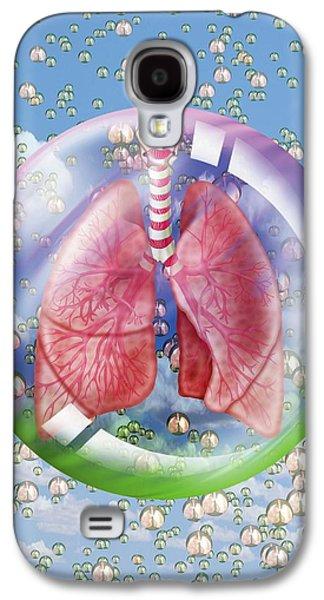 Breathing Galaxy S4 Case by Harvinder Singh