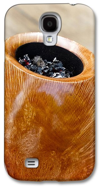Connoisseur Galaxy S4 Cases - Briar Pipe Bowl Galaxy S4 Case by Frank Tschakert