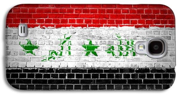 Iraq Galaxy S4 Cases - Brick Wall Iraq Galaxy S4 Case by Antony McAulay