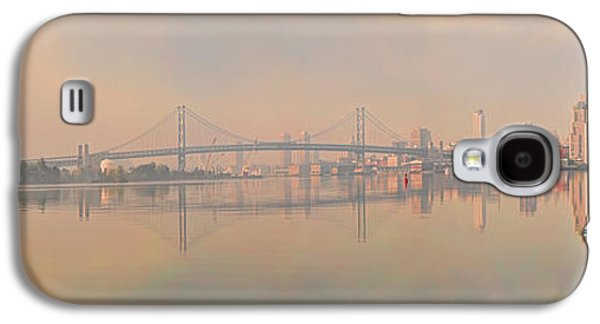 Benjamin Franklin Galaxy S4 Cases - Bridge Across A River, Benjamin Galaxy S4 Case by Panoramic Images