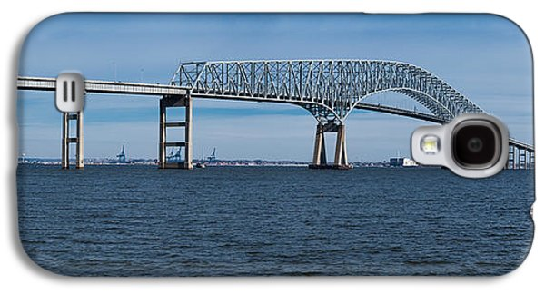 Francis Photographs Galaxy S4 Cases - Bridge Across A River, Francis Scott Galaxy S4 Case by Panoramic Images