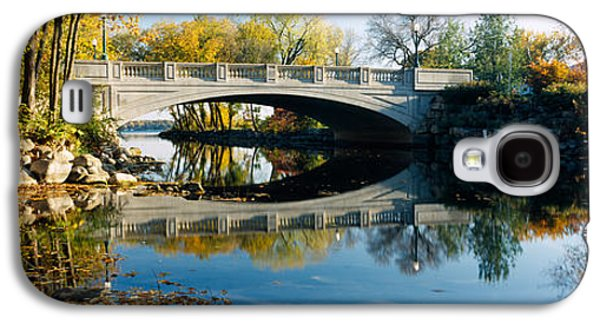 Madison Galaxy S4 Cases - Bridge Across A River, Yahara River Galaxy S4 Case by Panoramic Images