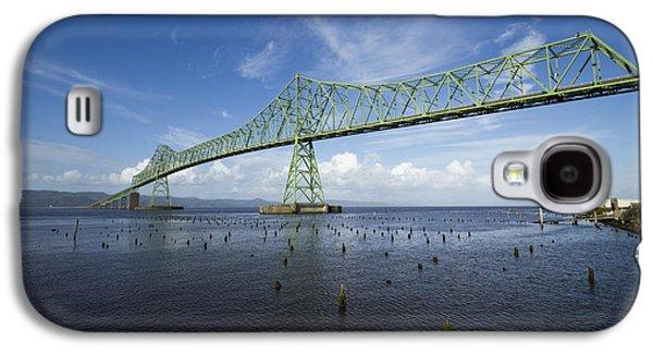 Landscapes Photographs Galaxy S4 Cases - Bridge Astoria OR 2 A Galaxy S4 Case by John Brueske