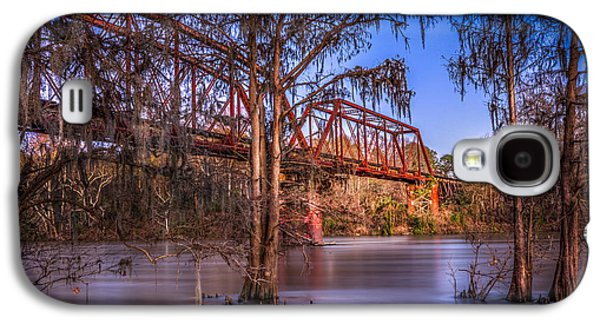 Country Dirt Roads Galaxy S4 Cases - Bridge Over Trouble Water Galaxy S4 Case by Marvin Spates