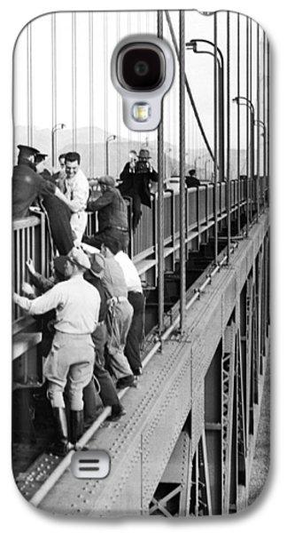 Bridge Suicide Attempt Galaxy S4 Case by Underwood Archives