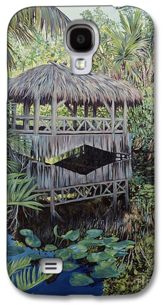Bamboo House Galaxy S4 Cases - Bridge to Paradise Galaxy S4 Case by Danielle  Perry
