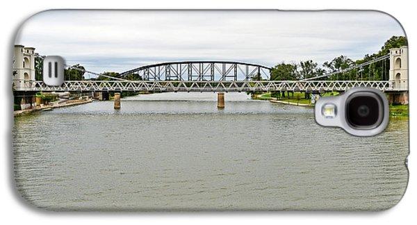 Cattle Drive Photographs Galaxy S4 Cases - Bridges in Waco TX Galaxy S4 Case by Christine Till