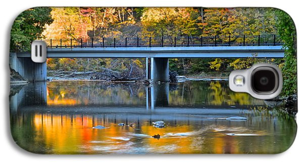 Contemplative Photographs Galaxy S4 Cases - Bridges of Madison County Galaxy S4 Case by Frozen in Time Fine Art Photography