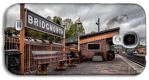 Trash Galaxy S4 Cases - Bridgnorth Railway Station Galaxy S4 Case by Adrian Evans