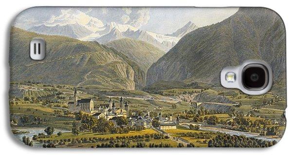 Brig On The Rhone, Bernese Alps Galaxy S4 Case by Swiss School