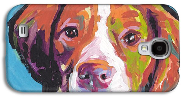 Puppies Galaxy S4 Cases - Bright Brit Galaxy S4 Case by Lea