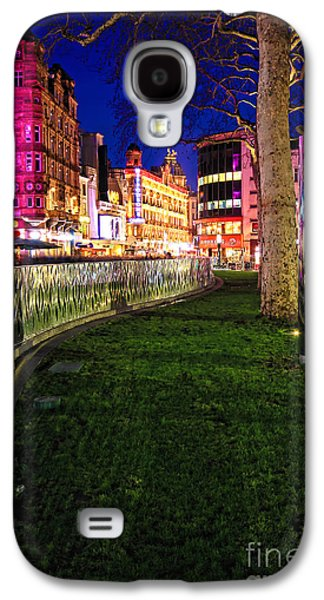 Lively Galaxy S4 Cases - Bright lights of London Galaxy S4 Case by Jasna Buncic
