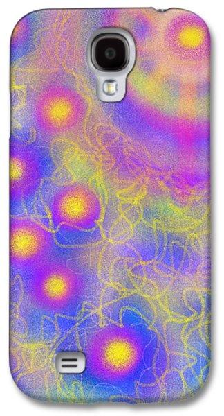 Daina White Galaxy S4 Cases - Brilliance Upon A Star Galaxy S4 Case by Daina White
