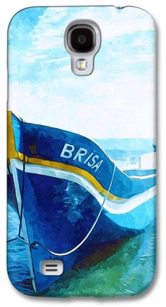Alga Paintings Galaxy S4 Cases - Brisa Galaxy S4 Case by Lanjee Chee
