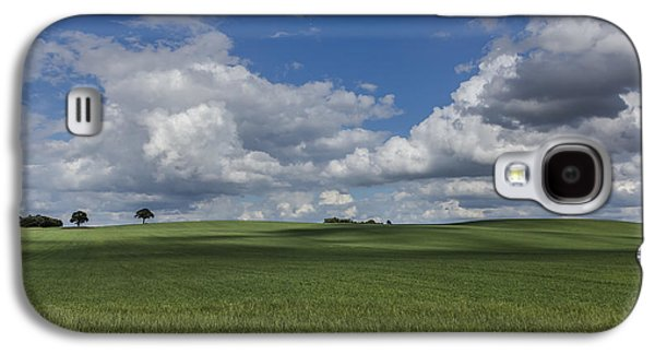 Agricultural Galaxy S4 Cases - British Farmland Galaxy S4 Case by Chris Fletcher