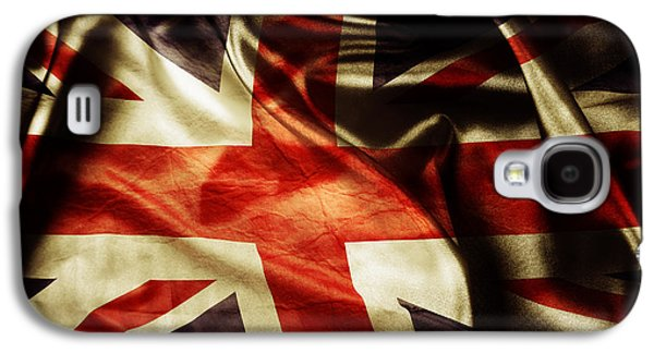British Flag  Galaxy S4 Case by Les Cunliffe