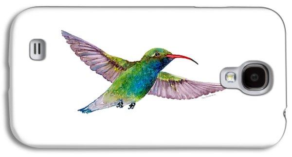 Broad Billed Hummingbird Galaxy S4 Case by Amy Kirkpatrick