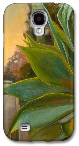 Streetscenes Paintings Galaxy S4 Cases - Broadview West Galaxy S4 Case by Athena  Mantle