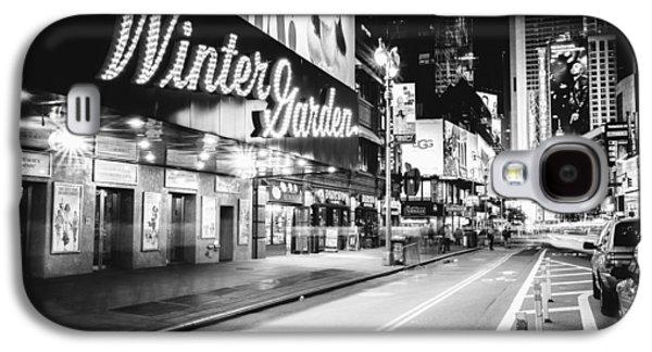 Broadway Theater - Night - New York City Galaxy S4 Case by Vivienne Gucwa
