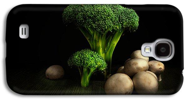 Broccoli Crowns And Mushrooms Galaxy S4 Case by Tom Mc Nemar