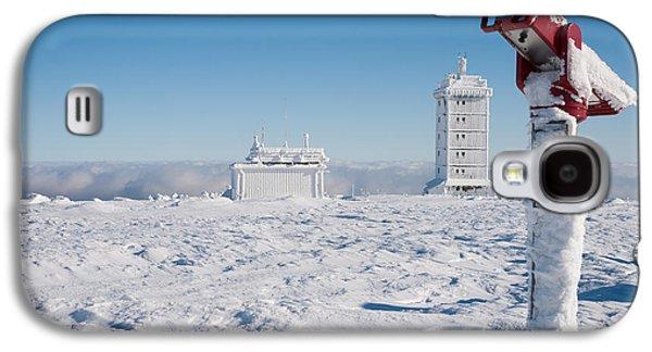 Bahn Galaxy S4 Cases - Brocken in winter Galaxy S4 Case by Andreas Levi