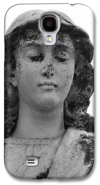 Statue Portrait Galaxy S4 Cases - Broken Angel b Galaxy S4 Case by Jerry Cordeiro