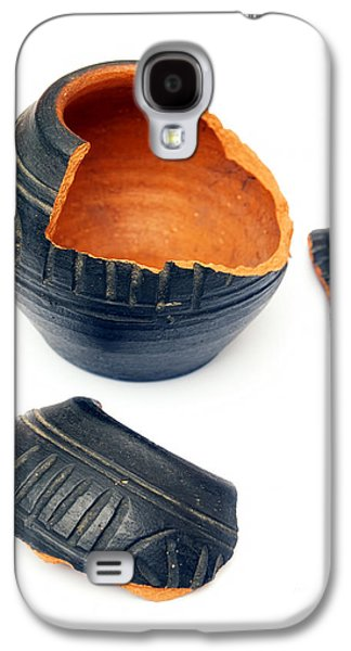 Broken Ceramic Galaxy S4 Case by Sinisa Botas