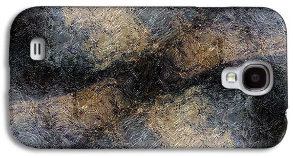 Abstract Forms Galaxy S4 Cases - Broken Galaxy S4 Case by James Barnes