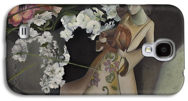 Headstones Paintings Galaxy S4 Cases - Broken Peace Galaxy S4 Case by Jane Autry