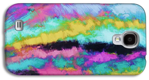Turbulent Skies Digital Art Galaxy S4 Cases - Broken sky Galaxy S4 Case by Keith Mills