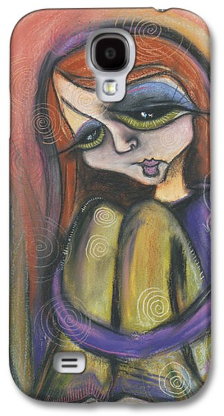 Spiral Pastels Galaxy S4 Cases - Broken Spirit Galaxy S4 Case by Tanielle Childers
