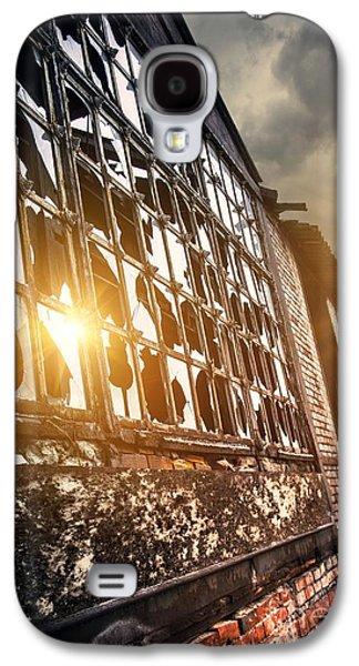 Warehouse Galaxy S4 Cases - Broken Windows Galaxy S4 Case by Carlos Caetano