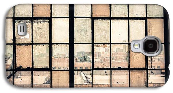 Warehouse Galaxy S4 Cases - Broken Windows Galaxy S4 Case by Yo Pedro