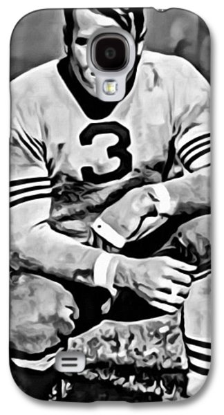 Nfl Galaxy S4 Cases - Bronko Nagurski Galaxy S4 Case by Florian Rodarte
