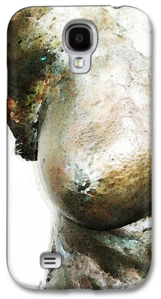 Nudes Digital Galaxy S4 Cases - Bronze Bust 1 Galaxy S4 Case by Sharon Cummings