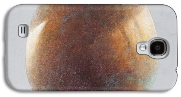 Bronze Galaxy S4 Cases - Bronze Egg, 2014 Oil On Canvas Galaxy S4 Case by Lincoln Seligman