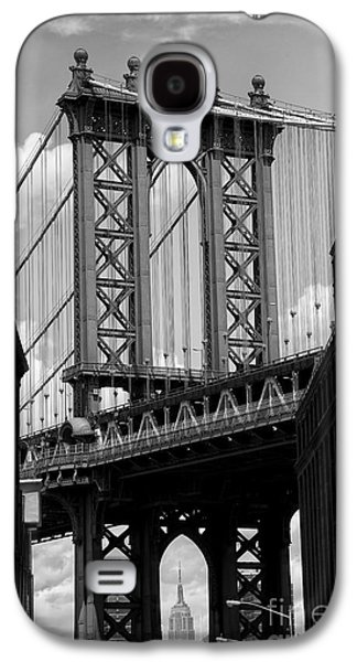 Consumerproduct Galaxy S4 Cases - Manhattan Bridge NYC Galaxy S4 Case by Peter Dang