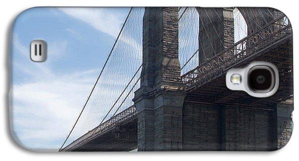Brooklyn Bridge Digital Galaxy S4 Cases - Brooklyn Bridge 2 Galaxy S4 Case by Mike McGlothlen