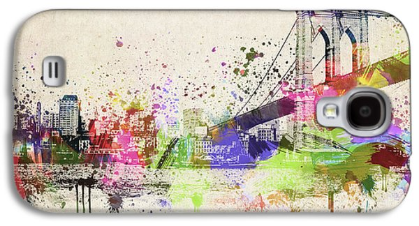 Brooklyn Bridge Galaxy S4 Case by Aged Pixel