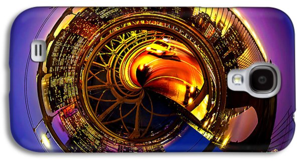 United Photographs Galaxy S4 Cases - Brooklyn Bridge Circagraph 5 Galaxy S4 Case by Az Jackson