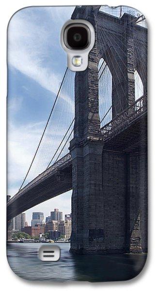 Brooklyn Bridge Digital Galaxy S4 Cases - Brooklyn Bridge Galaxy S4 Case by Mike McGlothlen