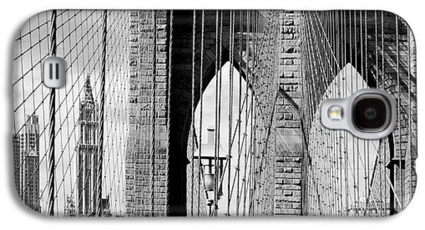 Brooklyn Bridge New York City Usa Galaxy S4 Case by Sabine Jacobs