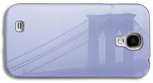 Concept Photographs Galaxy S4 Cases - Brooklyn Bridge New York Ny Galaxy S4 Case by Panoramic Images