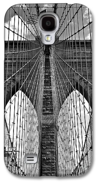 Consumerproduct Galaxy S4 Cases - Brooklyn Bridge New York City Galaxy S4 Case by Peter Dang