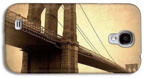 Brooklyn Bridge Digital Galaxy S4 Cases - Brooklyn Nostalgia II Galaxy S4 Case by Jessica Jenney