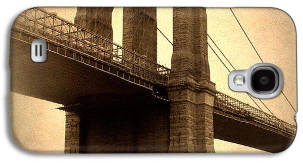 Brooklyn Bridge Digital Galaxy S4 Cases - Brooklyn Nostalgia Galaxy S4 Case by Jessica Jenney